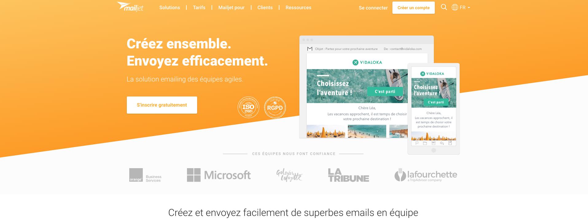 outil digital de la semaine - Mailjet